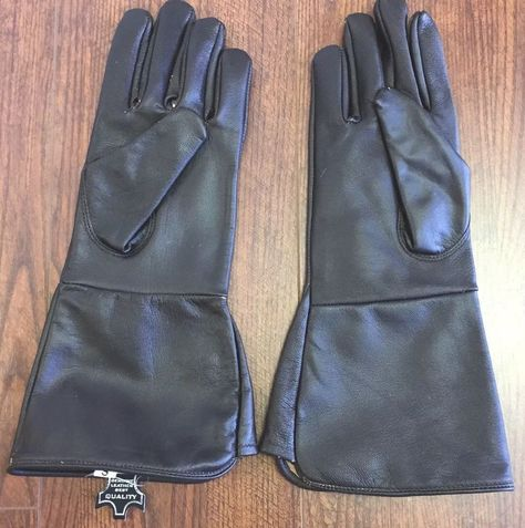 Mens Sherpa Cuff Outdoor Gloves Brown