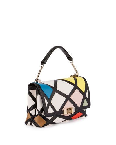 4bd3e2091563 Roger Vivier Prismick Mini Bauhaus bag