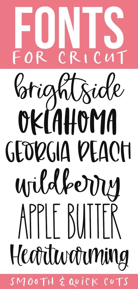 Cute cricut fonts for smooth and quick cuts! These fonts are perfect for all of your svg designs, shirts, signs and more! Cute cricut fonts for smooth and quick cuts! These fonts are perfect for all of your svg designs, shirts, signs and more! Cricut Craft Room, Cricut Vinyl, Free Fonts For Cricut, Fancy Fonts, Cool Fonts, Crafty Craft, Crafting, Cricut Tutorials, Vinyl Projects