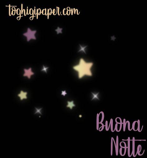 Gif buonanotte ⋆ Toghigi♥Paper