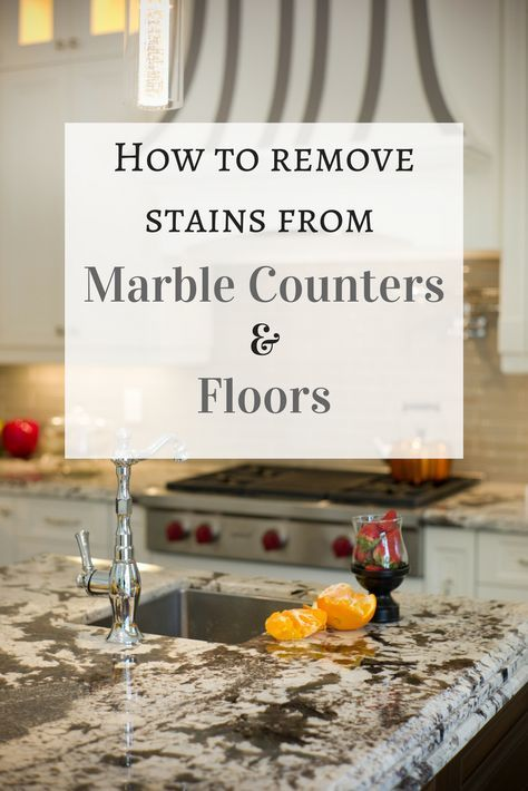 Even Though Marble Counters And Floors Look Like They Can Withstand Whatever A Cook Can Throw At Them These Surfac Clean Baking Pans Deep Cleaning Tips Stains