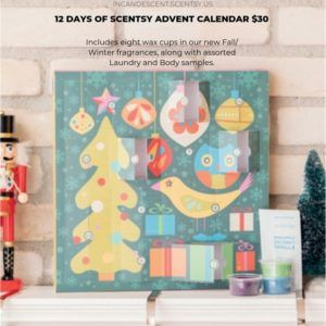 Scentsy Advent Calendar 12 Days Of Scentsy Christmas Holiday 2020 Christmas Advent Calendar Advent Calendar Scentsy