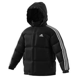 adidas Men's 3 Stripes Puff Down Jacket | Adidas boots nice