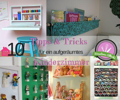 In diesem Beitrag möchte ich euch 10 Tipps & Tricks zeigen wie ihr Ordnung in das Kinderzimmer bekommt. Autos, Kuscheltiere, Stifte etc. brauchen viel Platz