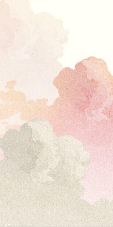 Pastell Wallpaper, Pink Clouds Wallpaper, Iphone Background Wallpaper, Pastel Color Wallpaper, Wallpaper Pink Cute, Pastel Pink Wallpaper Iphone, Iphone Homescreen Wallpaper, Pastel Wallpaper Backgrounds, Iphone Minimalist Wallpaper