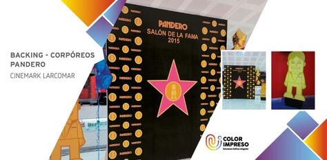 @colorimpresosac backing #pandero gracias a @inteligenciacreativabtl