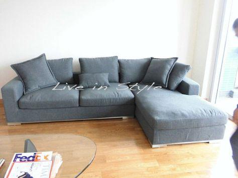 Medlano Signature Microfibre Sectional 7016 Sectional Microfiber Sectional Comfortable Sofa
