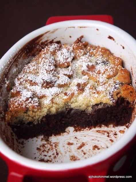 Heißer Tipp fürs Weihnachtsdessert: Schoko-Marzipan-Crumble, lauwarm | Schokohimmel