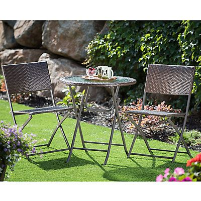 Sirio Faro 3pc Bistro The Home Depot Canada Outdoor Dining Set