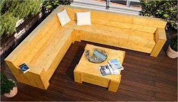 Sitzecke Fur Ihre Terrasse Bauen Terrasse Lounge Gartenlounge Selber Bauen Balkon Bauen