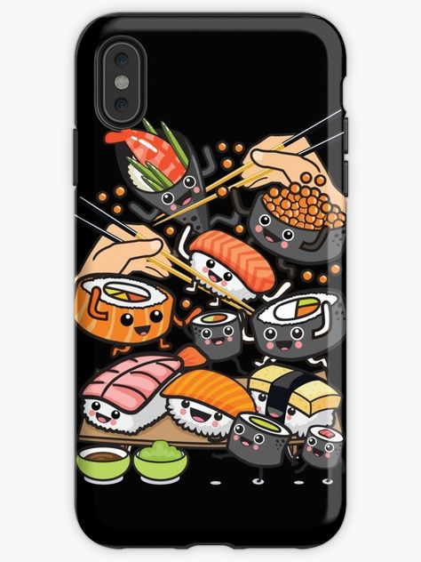 Sushi Party! by plushism
