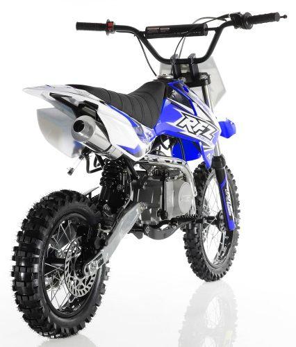 Apollo Dirt Bike Db X4 110cc 4 Speed Semi Automatic Pit Dirt Bike