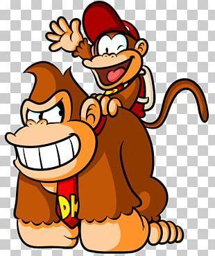 Donkey Kong Country Returns Donkey Kong Jr Donkey Kong 64 Png Clipart Animals Diddy Kong Donkey Donkey Kong Country Diddy Kong Donkey Kong Country Returns