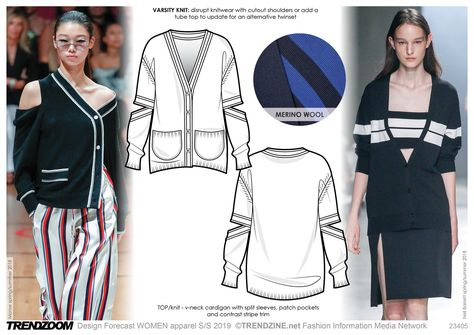 Trendzoom: Design Forecast Women/Youth Apparel S/S 2019 - Trends (#954632)