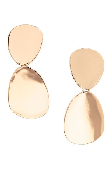 mirada detallada 86c8f 7b293 TrenditLive - Pendientes grandes H&M | Statement Earrings ...