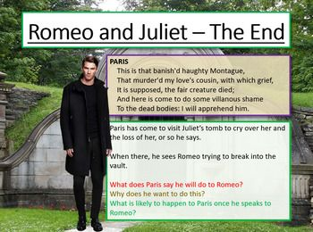 Romeo and Juliet - The Ending | High School English | Romeo