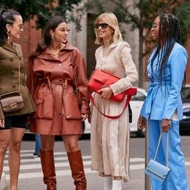 For trend-setting must-haves, turn to the street style of Borrowed from the boys workwear, ying and yang color-blocking, and simply sleek accessories—these are the three looks that will dominate the season.