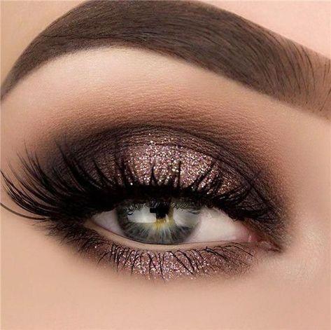 35 Ideen für einfache Augen Make-up für Frauen jeden Alters