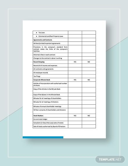 Instantly Download Free Checklist Small Business Legal Compliance Inventory Template Sample Exam Business Checklist Small Business Small Business Enterprise