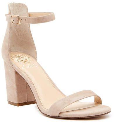Vince Camuto Beah Hi Heel Ankle Strap Sandal | Heels, Strap