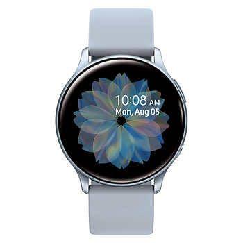 Samsung Galaxy Active 2 Smartwatch 40mm Silver Bonus Charging Dock Samsung Smart Watch Samsung Watches Samsung Galaxy
