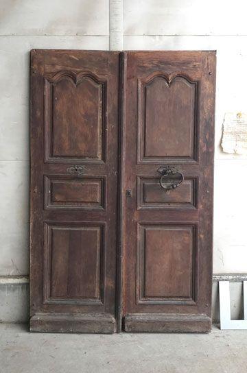 フレンチオークの教会の扉 パディントン アンティーク家具