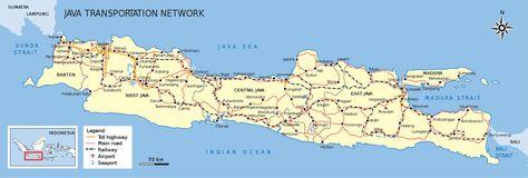 ile de java carte Carte de l'île de Java en Indonésie | Bali carte, Bali, Road trip