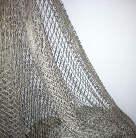 DONGHIA Window Treatment Fabric 9 3/4 yards Inspired by Fishing net 116 in. wide