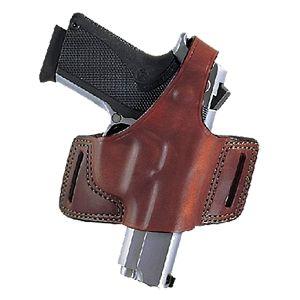 Don Hume JIT Belt Slide Open Bottom Style Concealment Leather Gun Holster