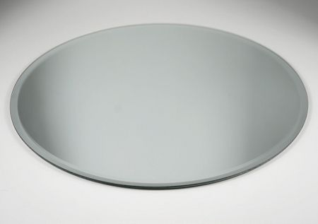 Round Beveled Edge Mirror 14 Inch Rental 3 50 Mirror Placemats Mirror Centerpiece Beveled Edge Mirror