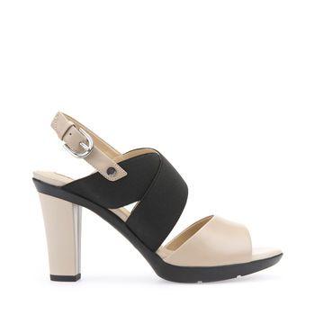 Ewell césped Iniciativa  La mejor selección de sandalias de tacón Jadalis de mujer en beige. Compra  en Geox.com. Devolución fácil y gratis! | Sandals heels, Beige sandals  heels, Sandals