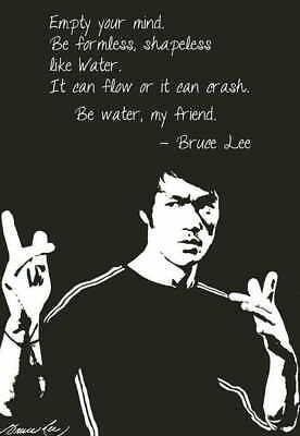 10229 Bruce Lee Motivational Quotes Kung Fu Star Laminated Poster Us Fashion Home Garden Homedcor Postersprints Bruce Lee Bruce Lee Quotes Bruce Lee Art