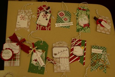 Stampin' Up!,Under the Tree Tag a Bag Accessory Kit, Holiday Home,Endless Wishes,White Christmas,Label Love, Snowflake Card Thinlet Dies