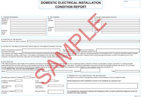 Certificates Everycert Throughout Minor Electrical Installation Works Certificate Templa In 2020 Business Plan Template Certificate Templates Electrical Installation