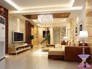 افضل ديكورات جبس اسقف راقيه 2019 Modern Gypsum Board For Walls And Ceilings Corner Sofa Design Sofa Design Beautiful House Plans