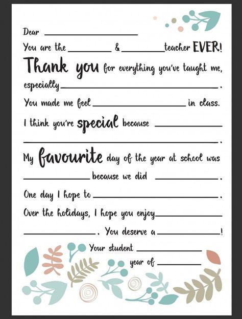 Strong Armor Teacher Appreciation - Sandwich Poem Gift Ideas - fresh best appreciation letter format