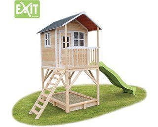 Exit Spielturm Loft 700 Natur Mit Rutsche Kaufen Bei Obi Spielturm Spielturm Garten Rutsche Kaufen