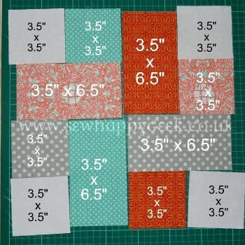 Easy Big Block Quilt Patterns Free A Good Scrap Quilt Project Use