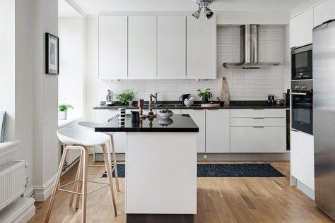 Estilo Nordico Atemporal Cocinas Modernas Encimeras De Cocina Y