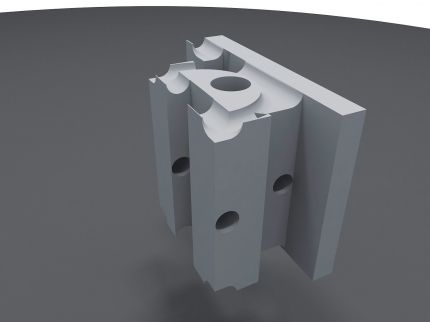 Amazing Technology Using Our Patented Connectors This Revolutionary Idea As Explained And Seen In T In 2020 Insulated Concrete Forms Masonry Wall Interlocking Bricks