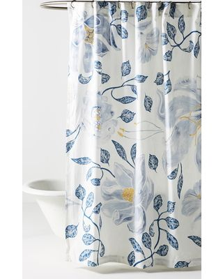 Anthropologie Anthropologie Catamarca Floral Shower Curtain Size One Size White From Nordstrom Bhg Com Shop Floral Shower Curtains Floral Shower Trendy Shower Curtain