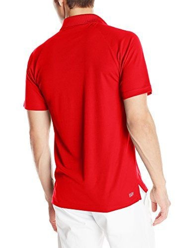 Lacoste Men S Short Sleeve Polo Shirt With Raglan Sleeve Lacoste Men Shirts Mens Tops