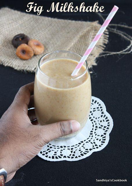 Fig Milkshake Dried Fig Smoothie Smoothie Recipe Recipe Fig Smoothie Smoothie Recipes Dried Figs