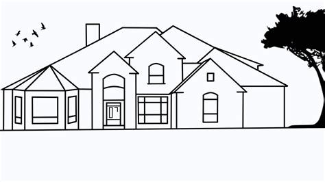 Images Dream House Drawing Dream House Sketch Simple House Drawing