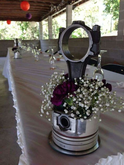 Motorcycle Wedding Centerpieces Ideas For 2019