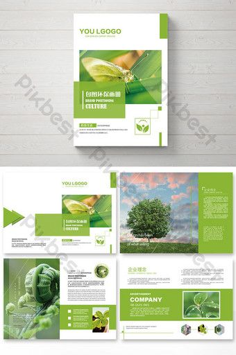 Corporate Environmental Brochure Design And Layout