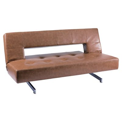 Dwell Pisa Sofa Bed Tan 169 Stylish Sofa Bed Comfortable