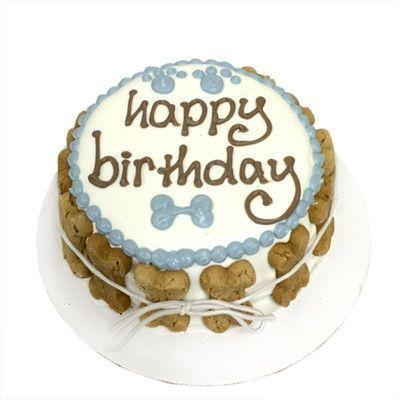 Peachy White And Blue Peanut Butter Apple Dog Birthday Cake Dog Cakes Personalised Birthday Cards Akebfashionlily Jamesorg