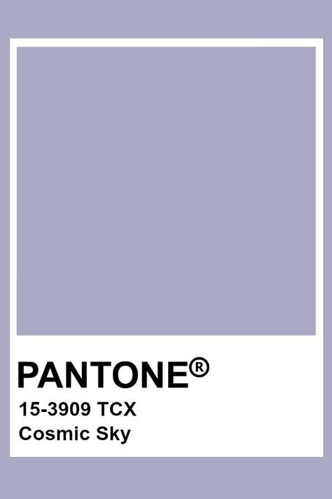 Pantone Cosmic Sky