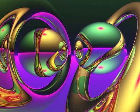 Rikki Knight Neon Fractal Swirls Single Outlet Plate